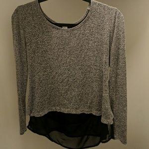 Bar III colorblock sweater